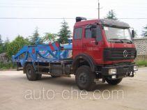 Sanji JSJ5164ZBG tank transport truck