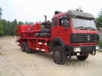Grouting truck