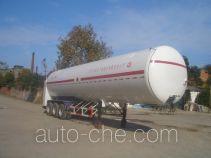 Sanji JSJ9400GDY cryogenic liquid tank semi-trailer