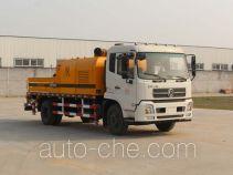 嘉运通牌JTC5120THB型车载式混凝土泵车