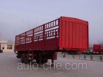 麒强牌JTD9350CLXY型仓栅式运输半挂车