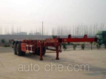 Qiang JTD9350TJZ container transport trailer