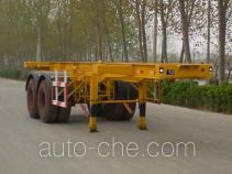 Qiang JTD9350TJZG container transport trailer