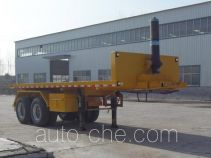 Qiang JTD9350ZZXP flatbed dump trailer