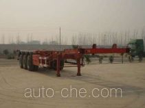 Qiang JTD9401TJZG container transport trailer