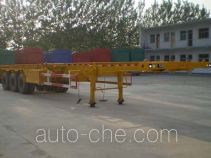 Qiang JTD9404TJZG container transport trailer