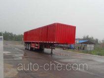 Qiang JTD9408XXY box body van trailer