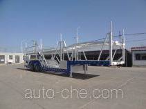 Juntong JTM9200TCL vehicle transport trailer