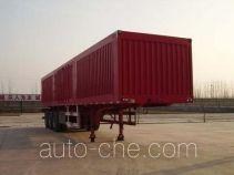 Jingtuo JTW9400XXY box body van trailer