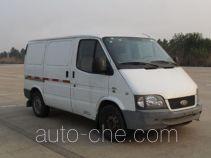 JMC Ford Transit JX5030XXYPCD-L5 box van truck