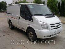 JMC Ford Transit JX5030XXYTD-L4 box van truck