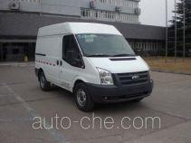 JMC Ford Transit JX5030XXYTDB-M4 box van truck