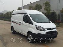 江铃全顺牌JX5033XXYTFB-M5型厢式运输车