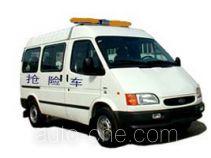 江铃全顺牌JX5035TQX-M型抢险车