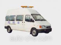 江铃全顺牌JX5035TQXL-H型抢险车