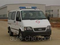 江铃全顺牌JX5035XJHZJ型救护车