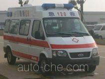 江铃全顺牌JX5035XJHZKA型救护车
