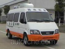 江铃全顺牌JX5035XLZZK型路政车