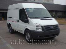 JMC Ford Transit JX5040XXYTDA-M4 box van truck