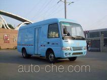 江铃牌JX5040XXYVDF型厢式运输车