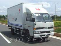 JMC JX5041XBWXG2 insulated box van truck