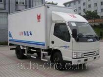 JMC JX5042XBWXL2 insulated box van truck
