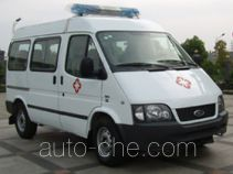江铃全顺牌JX5044XJHMB型救护车