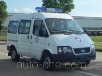 江铃全顺牌JX5044XJHMJ型救护车
