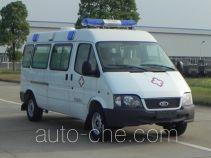 江铃全顺牌JX5044XJHMK型救护车