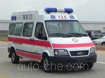 江铃全顺牌JX5044XJHMKB型救护车