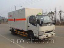 江铃牌JX5044XRQXG2型易燃气体厢式运输车