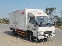 江铃牌JX5044XXYXGV2型厢式运输车