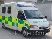 江铃全顺牌JX5045XJHDLA2型救护车