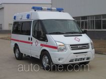 江铃全顺牌JX5049XJHMB4型救护车