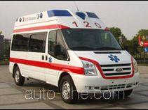 江铃全顺牌JX5049XJHMCC型救护车