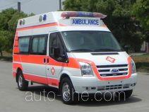 江铃牌JX5049XJHMDJ型救护车