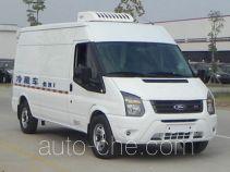 江铃全顺牌JX5049XLCMK型冷藏车