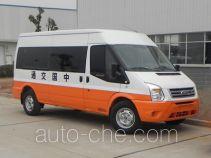 江铃全顺牌JX5049XLZMC型路政车