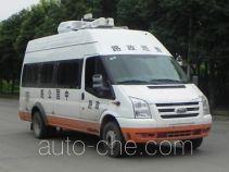 江铃全顺牌JX5049XLZMF2型路政车