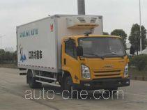江铃牌JX5087XLCXK2型冷藏车