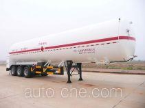 Wufeng JXY9390GDY cryogenic liquid tank semi-trailer