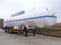 五峰牌JXY9401GDY3型低温液体运输半挂车