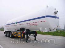 Wufeng JXY9401GDY6 cryogenic liquid tank semi-trailer