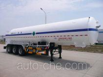 Wufeng JXY9404GDY4 cryogenic liquid tank semi-trailer