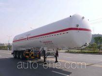 Wufeng JXY9407GDY5 cryogenic liquid tank semi-trailer