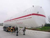Wufeng JXY9407GDY6 cryogenic liquid tank semi-trailer