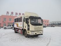 Thermal dewaxing truck