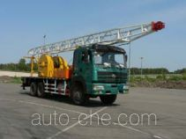 Qingquan JY5230TCYC20 well servicing rig (workover unit) truck