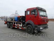 Hot oil (water) dewaxing truck