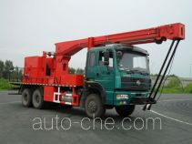 Qingquan JY5250TCYC20 well servicing rig (workover unit) truck